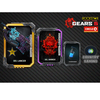 Gears 5 ROCKSTAR SUPER EXCLUSIVE CIRCLE K SKIN