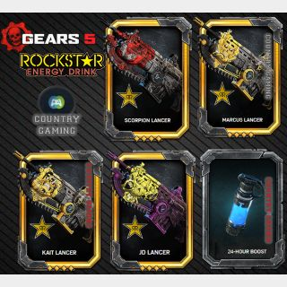 LIMITED SPECIAL OFFER -50%  GEARS  5 ROCKSTAR EXCLUSIVE LANCER DLC PACK #5