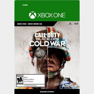 Call of Duty Black Ops Cold War Xbox One  Estandar Edition GLOBAL