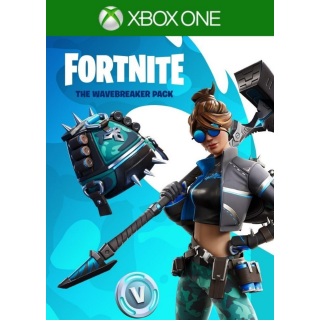 FORTNITE Wavebreaker + 600 Vbucks Super Exclusive XBOX ONE CDKEY USA REGION