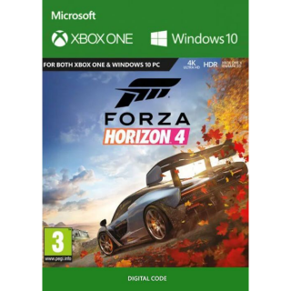 Forza Horizon 4 Xbox One / Windows 10 CD KEY.