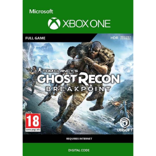 GHOST RECON BREAKPOINT XBOX ONE REGION USA