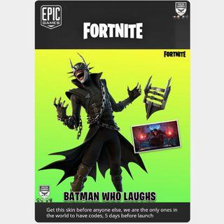 Code | Batman WHO LAUGHS