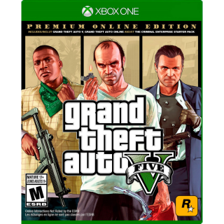 GTA V  PREMIUM ONLINE EDITION XBOX ONE USA [𝐈𝐍𝐒𝐓𝐀𝐍𝐓] 🔑✅ CDKEY