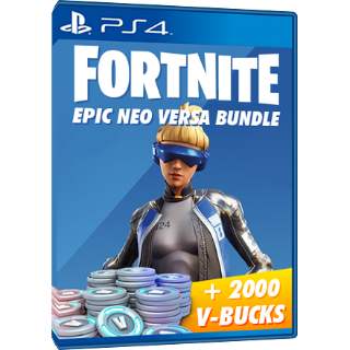 Fortnite Neo Versa - PS4 Bundle - 2000 Vbucks - INSTANT DELIVERY  EUROPE REGION