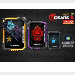 Gears 5 ROCKSTAR SUPER EXCLUSIVE CIRCLE K SKIN