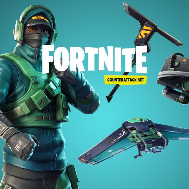 Fortnite Counterattack Set + 2000 V-BUCKS [𝐈𝐍𝐒𝐓𝐀𝐍𝐓] 🔑✅  Epic Games Key GLOBAL