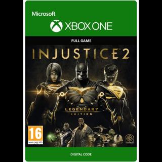 INJUSTICE 2 LEGEDARY EDITION XBOX ONE CDKEY USA