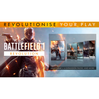 Battlefield 1 Revolution + Battlefield 1943 XBOX CD KEY