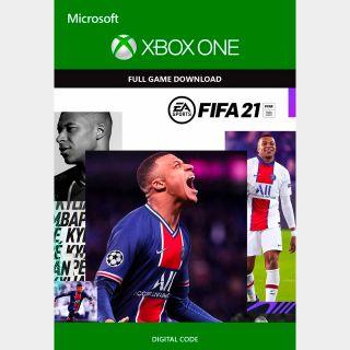 Fifa 21 UNITED STATED REGION Xbox One, Xbox Series X/S