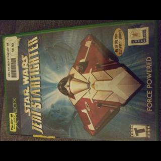 Star Wars Jedi Starfighter (Xbox)