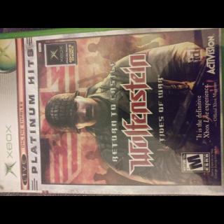 Return to Castle Wolfenstein (Xbox)