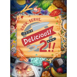 Cook, Serve, Delicious! 2!! --INSTANT DELIVERY