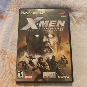 X-Men Legends 2 Rise of the apocalypse