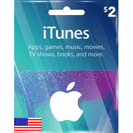$2.00 USD iTunes Gift Card