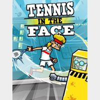 Tennis in the face Instant Delivery