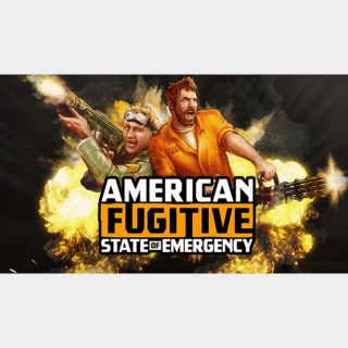 AMERICAN FUGITIVE Steam Key Instant Delivery