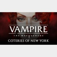 VAMPIRE: THE MASQUERADE - COTERIES OF NEW YORK|Steam Key|Instant Delivery
