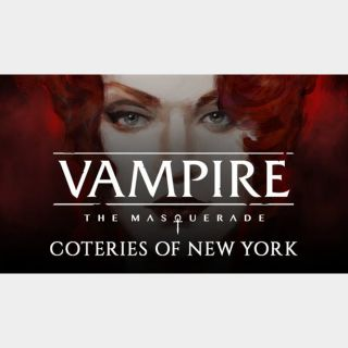 VAMPIRE: THE MASQUERADE - COTERIES OF NEW YORK Steam Key Instant Delivery