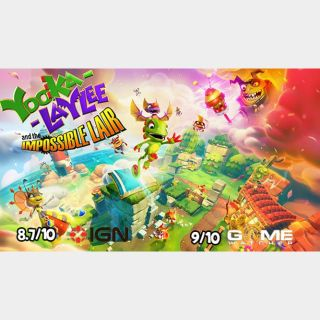 YOOKA-LAYLEE AND THE IMPOSSIBLE LAIR Steam Key Instant Delivery