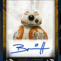 Topps Star Wars Card Trader BB-8 Signature Gold Epic