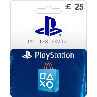 £25.00 PlayStation Store Gift Card 25 UK (Instant Delivery)