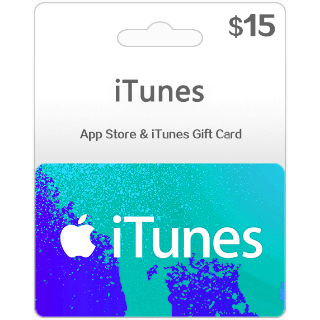 $15.00 iTunes Gift Card 15 USD (Instant Delivery)