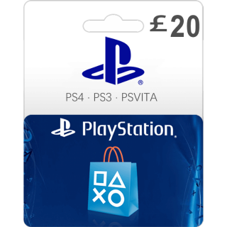 £20.00 PlayStation Store Gift Card 20 UK (Instant Delivery)