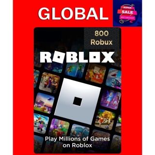 GLOBAL 800 ROBUX /$10 ROBLOX INSTANT DELIVERY ✅TRUSTED 100% FEEDBACK SELLER