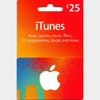 £25.00 GBP UK App Store & iTunes