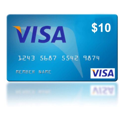 Visa Virtual Debit Card (preloaded) $12 - Other Gift Cards - Gameflip