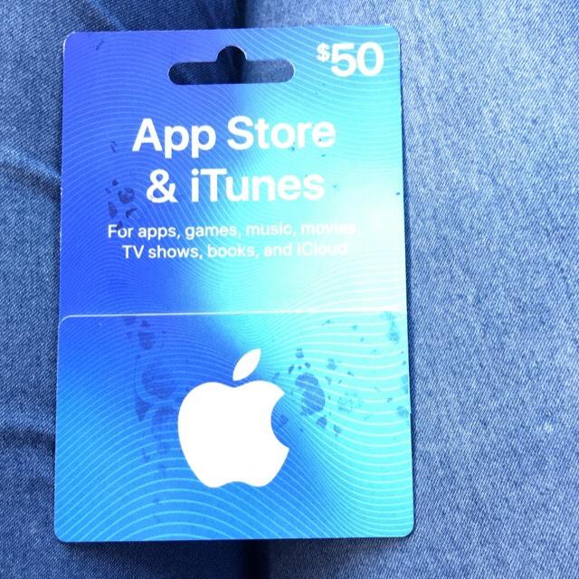 iTunes $50 gift card - iTunes Gift Cards - Gameflip