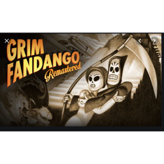 Grim Fandango Remastered - Steam Key