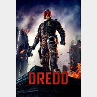 Dredd - Vudu HDX Actual Code