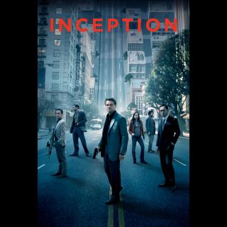 Inception - HD MoviesAnywhere Redeem