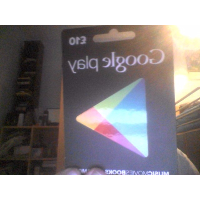 INSTANT - Google Play 10 pound gift card - 13 dollars is 10