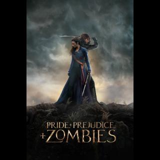 Pride and Prejudice and Zombies HDX Digital Code - Vudu