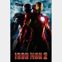 Iron Man 2 UHD/4k Digital Code - Movies Anywhere