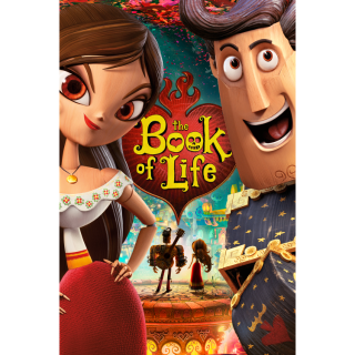 The Book of Life HD Digital Code - Movies Anywhere
