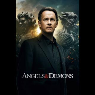 Angels & Demons HDX Digital Code - Vudu