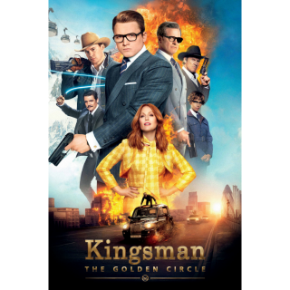 Kingsman: The Golden Circle VUDU MOVIES ANYWHERE