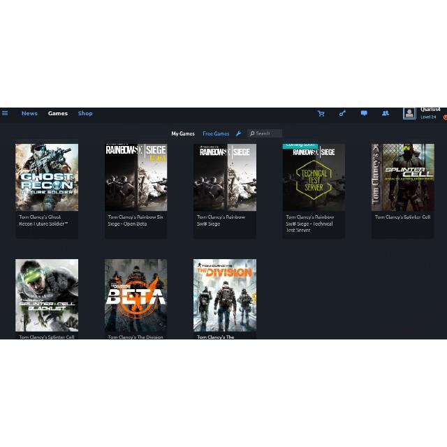 Tom Clancy 's Rainbow Six Siege (account) - UPlay Games