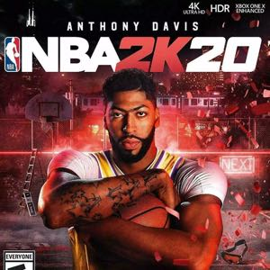 NBA 2k20 PS4 standard edition   Physical disc - All languages-  Limited Stock