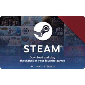 $55 STEAM Gift Card INSTANT