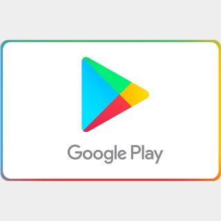 $25.00 Google Play US