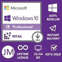 Windows 10 Pro 32/64 Bit OEM ✔️ Instant