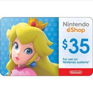 $35 Nintendo eShop