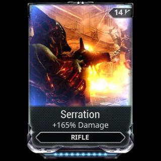 Mod   Serration at r10(maxed)