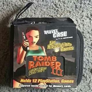 Tomb Raider III Travel Case Target Exclusive