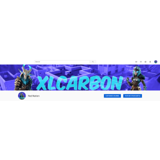 I will Make you a beautiful gaming banner & profile picture